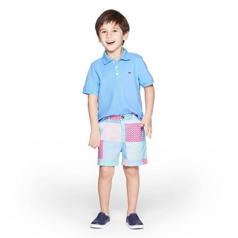 0b3c7aa3 Toddler Boys' Short Sleeve Polo Shirt - Light Blue - vineyard vines® for  Target. Shop all vineyard vines for Target
