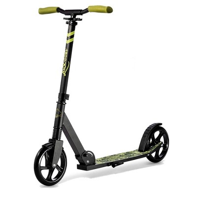 LaScoota Premium Teen Adult Adjustable Portable Folding Kick Scooter w/ Lightweight Wide Non Slip Deck and Carry Strap, Camouflage