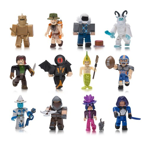 Roblox City Life Man Package Roblox Action Collection Series 4 Figure 12 Pack Includes 12 Exclusive Virtual Items Target