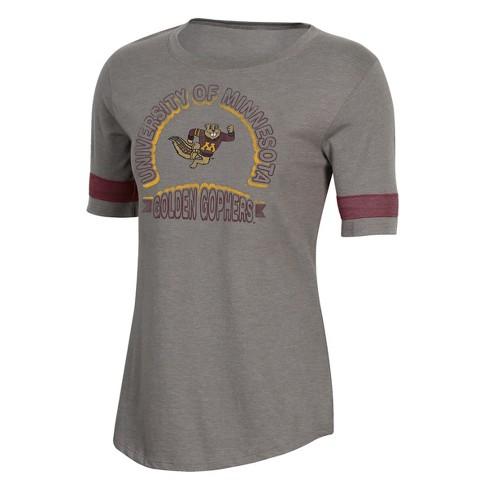 NCAA Minnesota Golden Gophers Women's Short Sleeve Scoop Neck T-Shirt - image 1 of 2