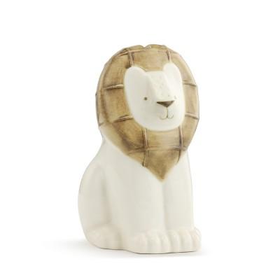 DEMDACO Leonard the Lion Bank Brown