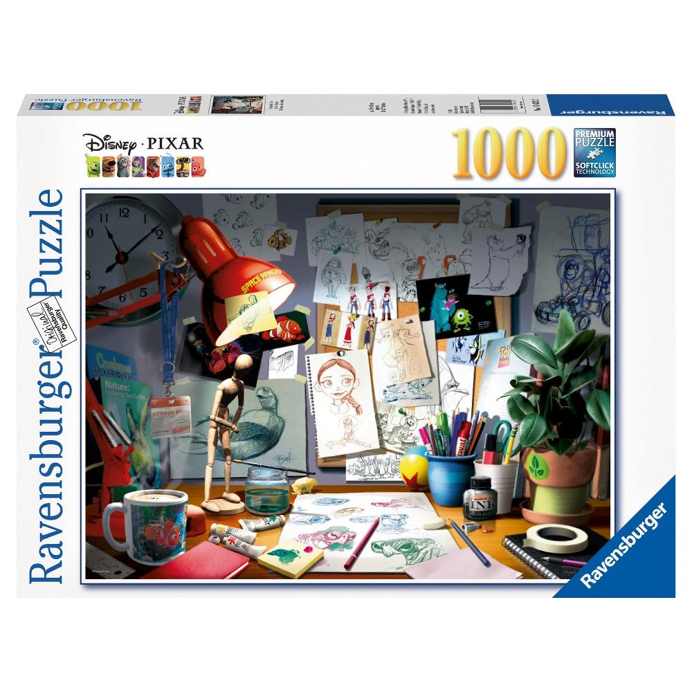 Pixar The Artist's Desk 1000pc Puzzle