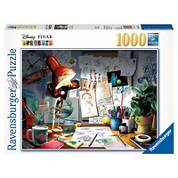 Ravensburger Disney Pixar The Artists Desk Puzzle 1000pc