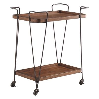 Moddano Kitchen Cart Brown/Black - Signature Design by Ashley
