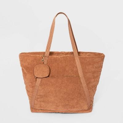 Tote Handbag - Wild Fable™ Tan