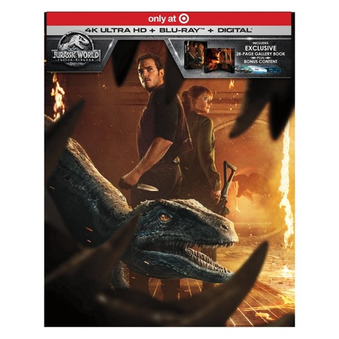 Jurassic World: Fallen Kingdom  (Target Exclusive) (4K/UHD + Blu-Ray + Digital) - image 1 of 2