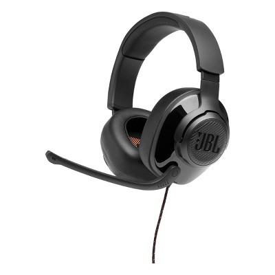 JBL Quantum 200 Over-Ear Gaming Headset (Black)