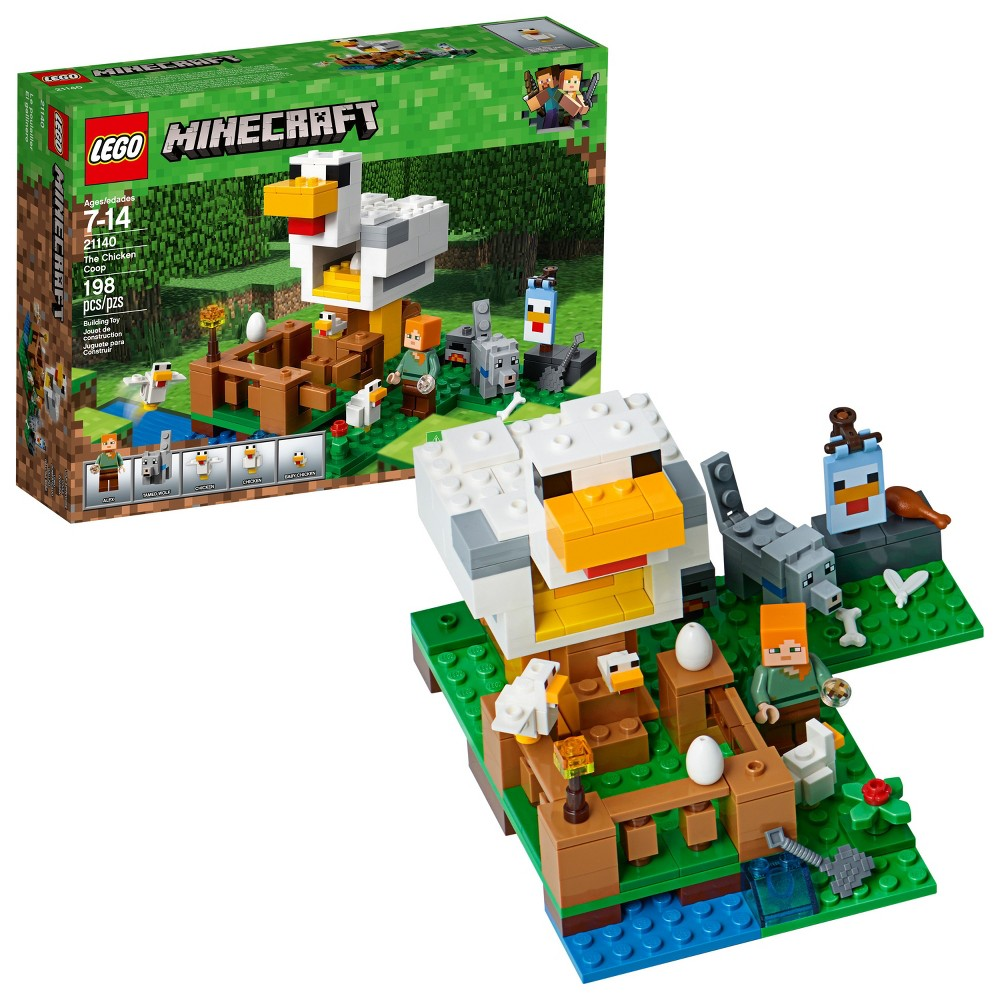 LEGO Minecraft The Chicken Coop 21140