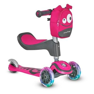 smarTrike T1 3 Wheel Kids' Kick Scooter - Pink