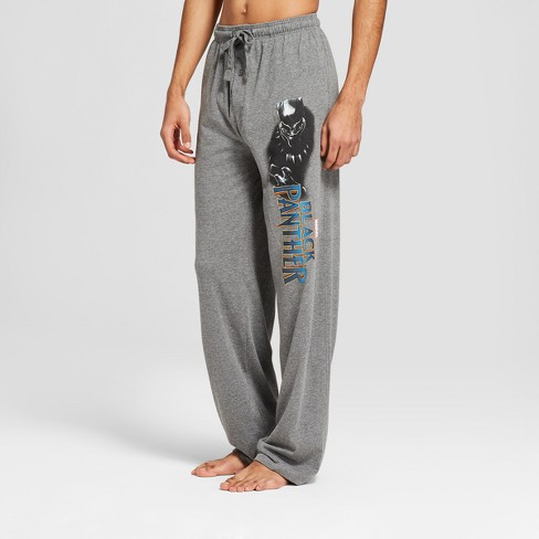 Men's Marvel Black Panther Pajama Pants - Charcoal Heather - image 1 of 2