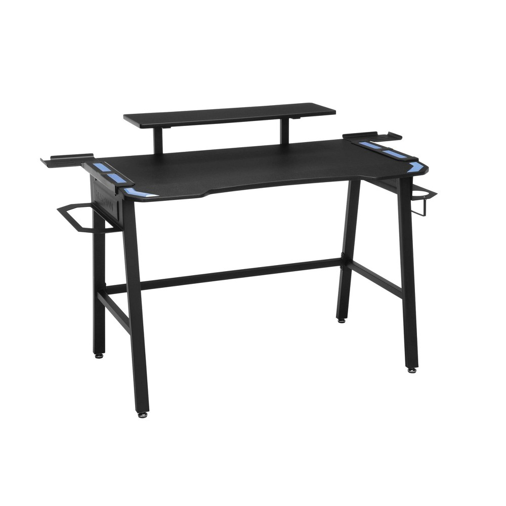 Image of 1010 Gaming Computer Desk Blue - RESPAWN