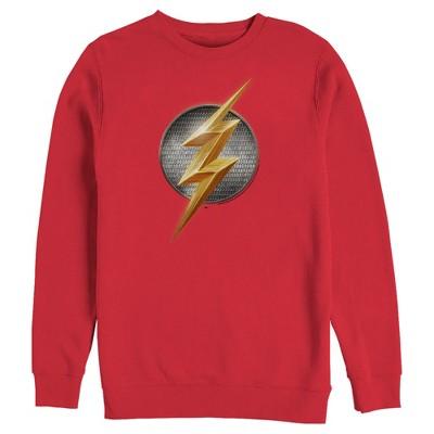 Men's Zack Snyder Justice League The Flash Logo Sweatshirt