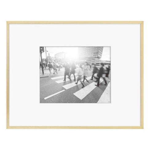 Thin Metal Matted Gallery Frame Gold - Project 62™ - image 1 of 3
