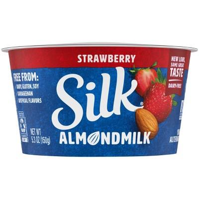 Silk Strawberry Almond Milk Yogurt Alternative - 5.3oz Cup