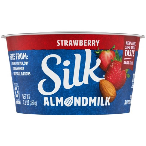 Silk Almond Milk Strawberry Yogurt - 5.3oz - image 1 of 4