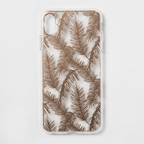 brand new def85 fd615 heyday™ Apple iPhone XS Max Case - Rose Gold Feathers