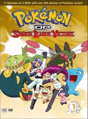 Pokemon DP Sinnoh League Victors: Set 1 (DVD)