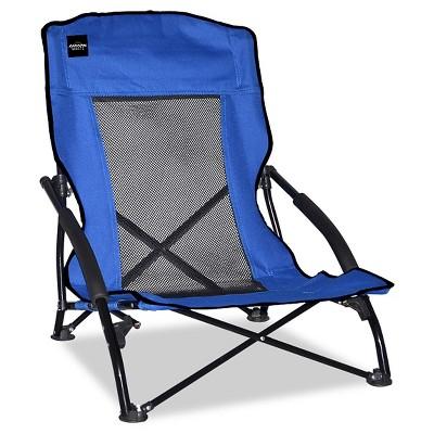 Caravan Global Compact Folding Chair 1 Piece - Mesh - Blue