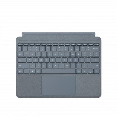 Microsoft Surface Go Signature Type Cover Ice Blue - Pair w/ Surface Go - A full keyboard experience - Close to protect screen & conserve battery