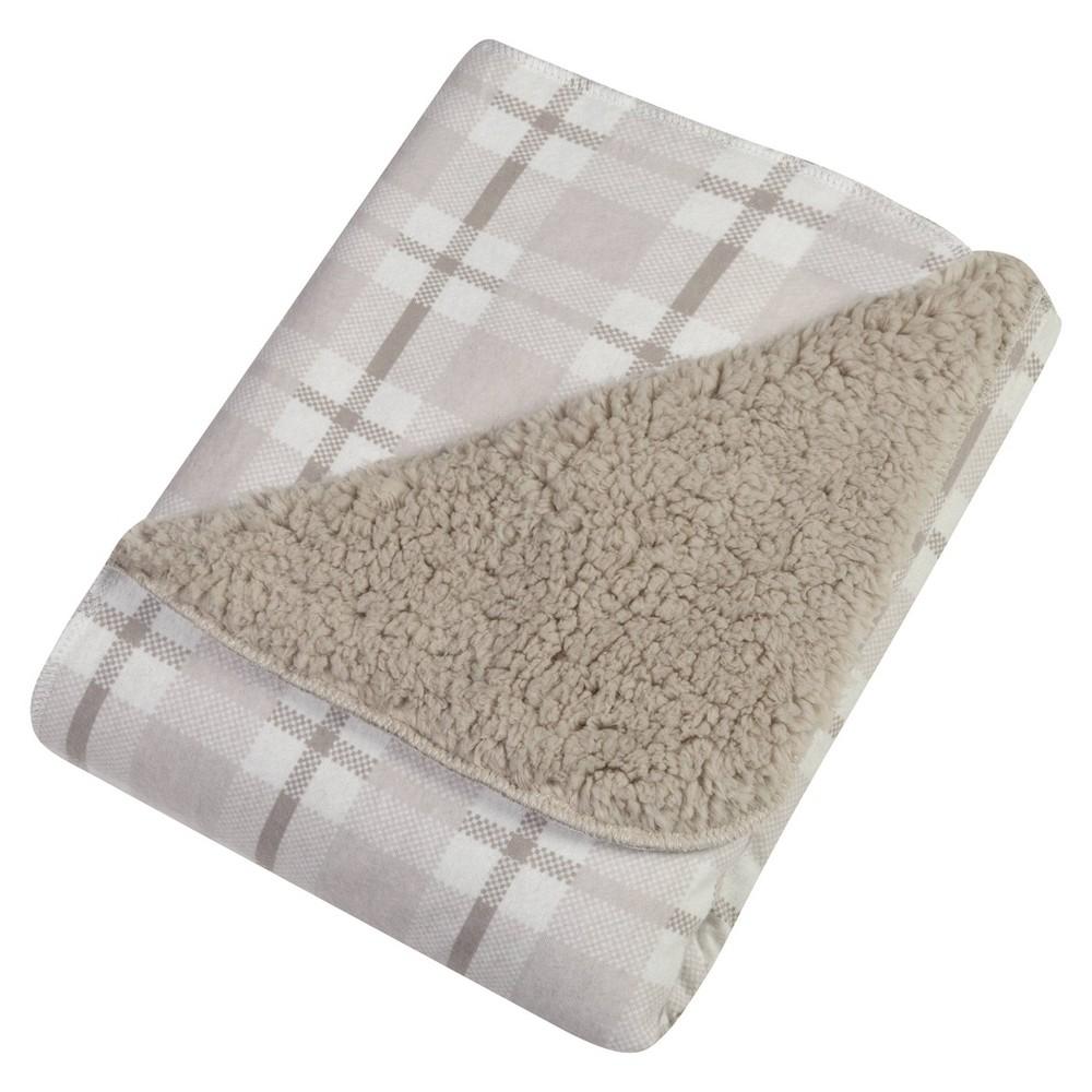 Image of Trend Lab Receiving Blanket - Gray