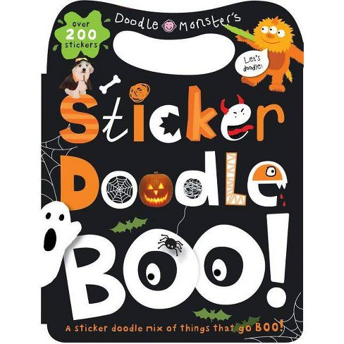 Sticker Doodle Boo! - by  Roger Priddy (Mixed media product) - image 1 of 1