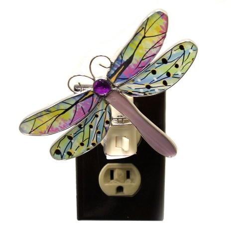 "Ganz 4.5"" Dragonfly Night Lights Insect Wings Odonata - image 1 of 2"