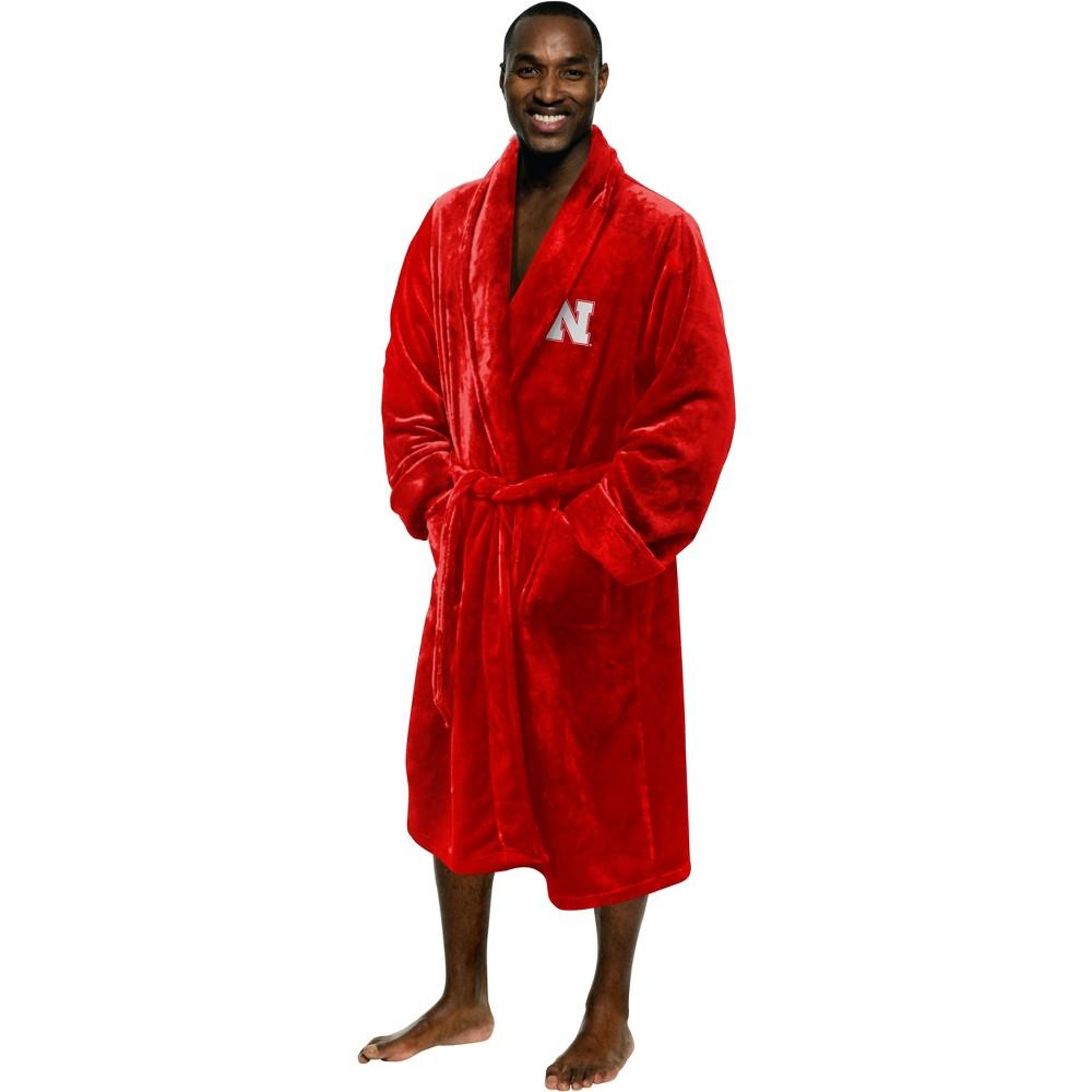 NCAA Nebraska Cornhuskers Bath Robe, Adult Unisex