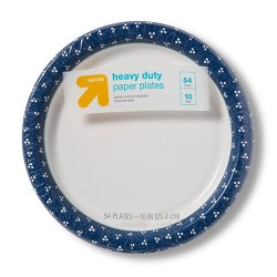 "Textured Dot Paper Plate 10"" - 54ct - Up&Up™"
