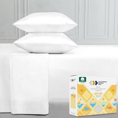 Softest Everyday Comfort 400 Sateen   100% Cotton Sheets Set   Deep Pocket Bed Sheets by California Design Den
