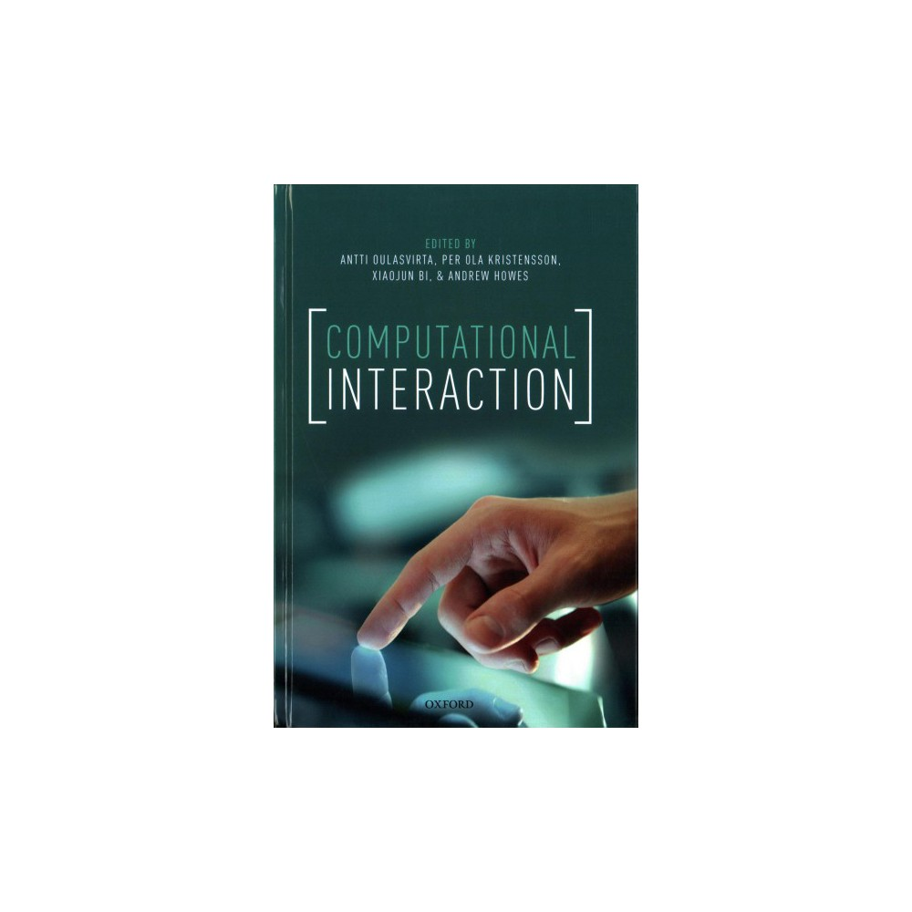Computational Interaction - (Hardcover)