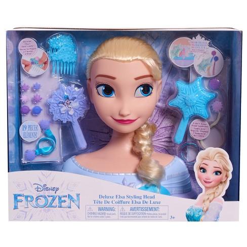 Disney Princess Elsa Deluxe Styling Head - image 1 of 4