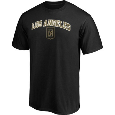 MLS Los Angeles FC Men's Short Sleeve Crew Neck Core T-Shirt