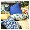 Set of 2 Marlow Floral Outdoor Square Throw Pillows - Kensington Garden - image 3 of 4