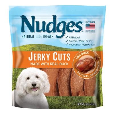 Nudges Duck Jerky Cuts Natural Dog Treats - 16oz