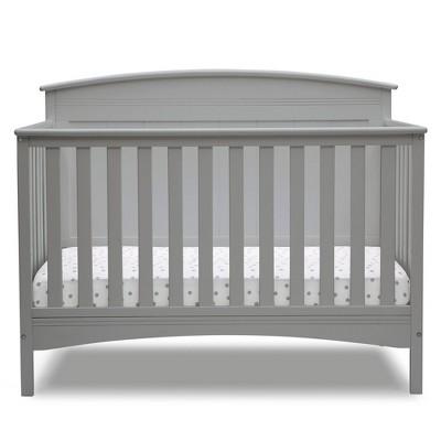 Delta Children Deluxe Archer 6-in-1 Convertible Crib - Gray