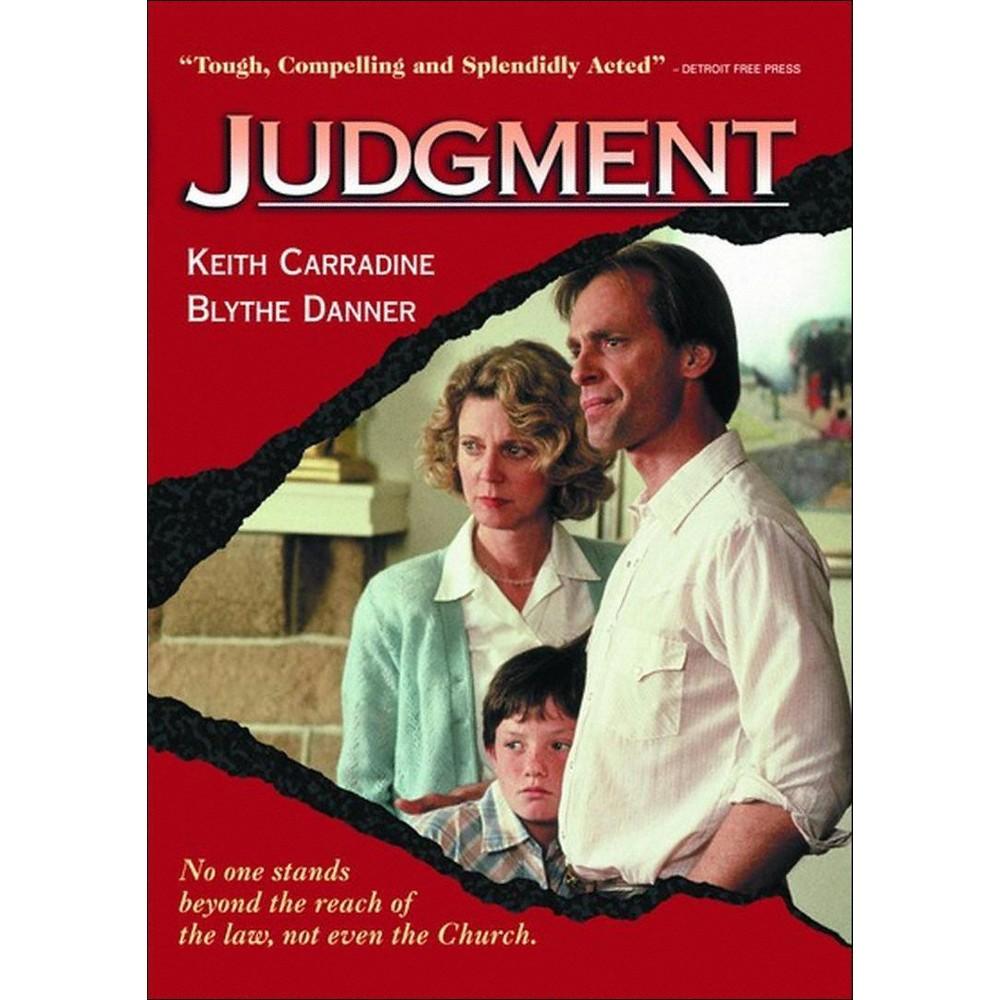 Judgment Dvd 2012