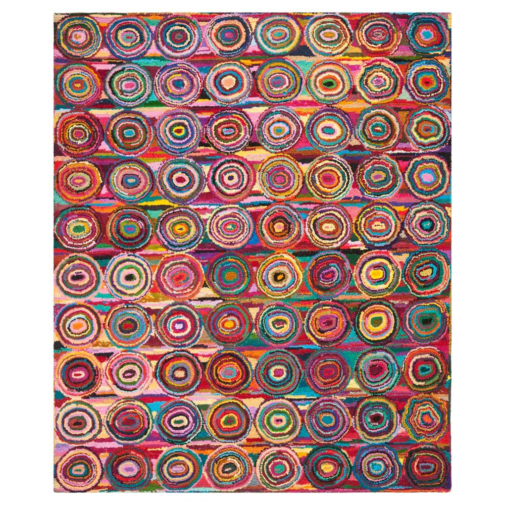 Best Sale Tatum Area Rug Pink5x8 Safavieh Multicolored Pink