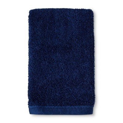 Hand Towel Bath Towels And Washcloths Nighttime Blue - Room Essentials™