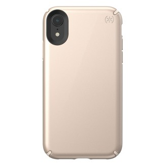 Speck Apple iPhone XR Presidio Case - Metallic Nude Gold