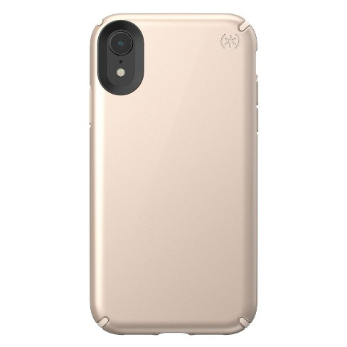 Speck Apple iPhone XR Presidio Case - Metallic Nude Gold - image 1 of 4