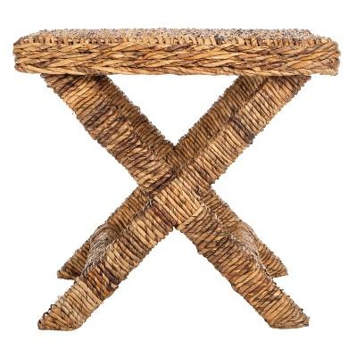 Wicker X Side Table - Safavieh