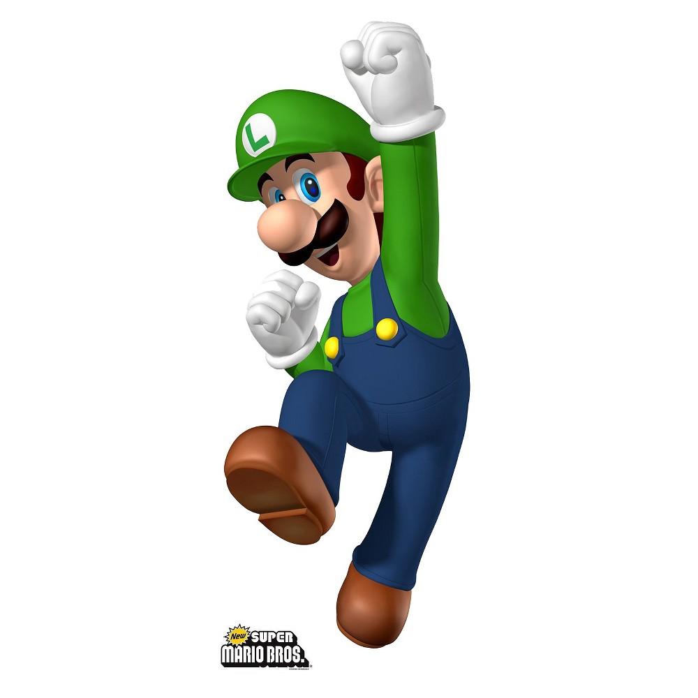 Super Mario Brothers Luigi Cardboard Standup