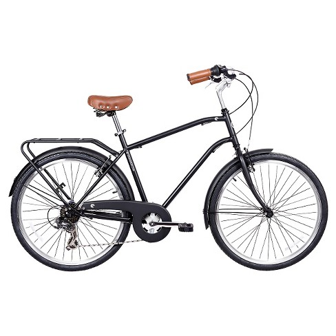 "Gama Bikes Men's Commuter 26""  7-Speed Urban Hybrid Commuter - Negra - image 1 of 2"