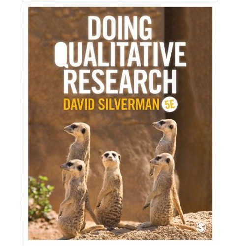 Doing Qualitative Research -  by David Silverman (Hardcover) - image 1 of 1
