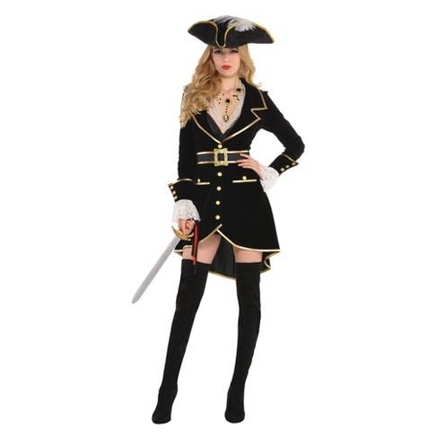 Women's Treasure Vixen Halloween Costume - image 1 of 1