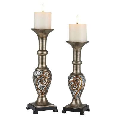 Ok Lighting Theos Candleholder Set