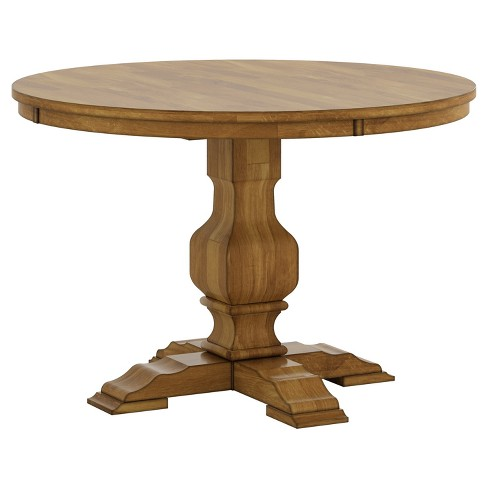 South Hill Round Pedestal Base Dining Table - Inspire Q® - image 1 of 3
