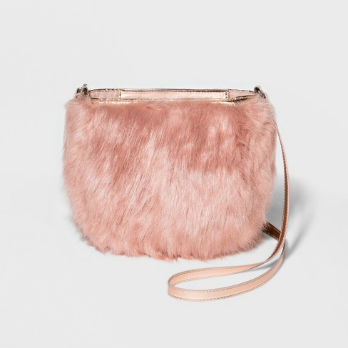 Women's T-Shirt & Jeans Cross Body Bags - Pale Blush - image 1 of 3