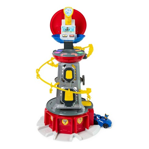 Paw Patrol Super Mighty Pups Lookout Tower Chase Target