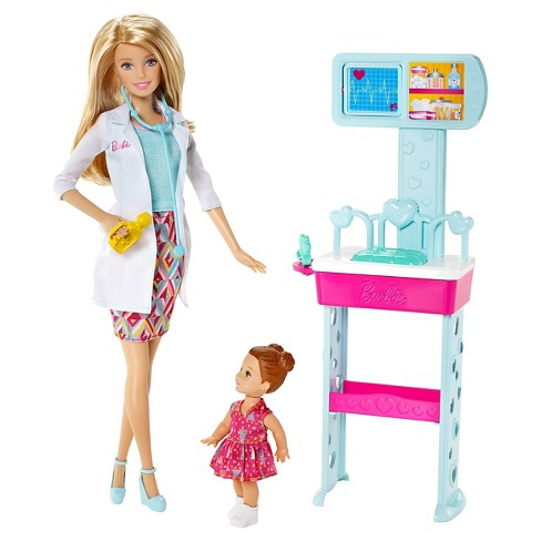 Barbie Careers Pediatrician Doll and Playset - image 1 of 4